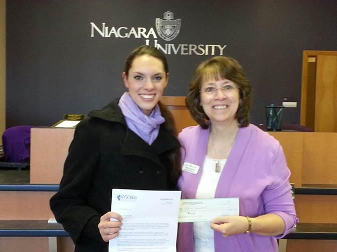resizedimage400300 2014 15 Rachael M. Ruszkowski from Niagara University